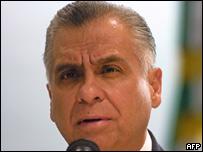 El procurador general de Justicia Rafael Macedo