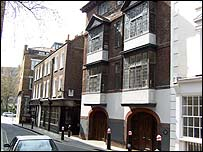 The houses at 41-2 Cloth Fair are said to be the oldest in London