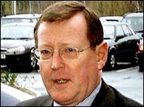 David Trimble has hopes for the talks at Leeds Castle