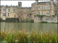 Leeds Castle in Kent is the venue for this week's talks