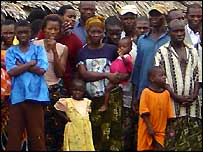 Residents of Bakassi's main town of Abana