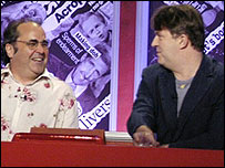 Danny Baker and Paul Merton