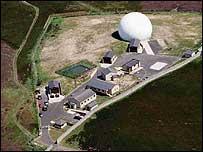 Boulmer air base