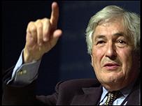 James Wolfensohn, presidente del Banco Mundial