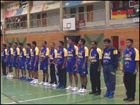 Sri Lankan handball team