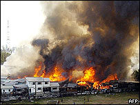 Blaze in Bangkok