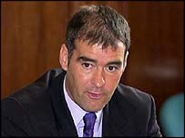 Scottish Socialist leader Tommy Sheridan