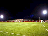 Northwich's temporary home at Wincham Park