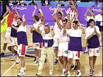 Spain basketball team