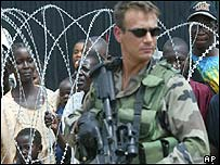 EU peacekeeper in DR Congo
