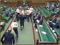 Security breach in House of Commons