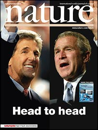Cover of Nature magazine (Nature)