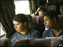 Inmigrantes mexicanos repatriados.