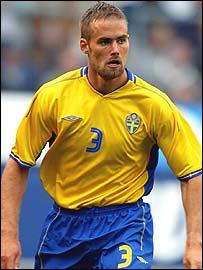 Sweden's Olof Mellberg