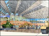 Designs for the tank museum