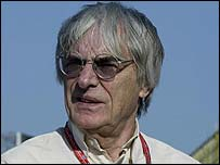 Formula One supremo Bernie Ecclestone has a battle on his hands