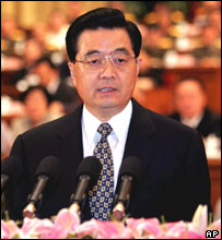 Hu Jintao, Chinese president , 15 Sept 2004