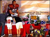 Memorial for Pat Tillman