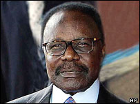 Gabon president