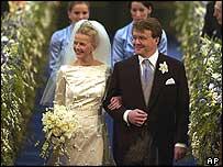 Dutch Prince Johan Friso weds Mabel Wisse Smit