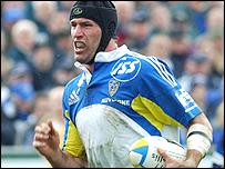 Montferrand try scorer Olivier Magne
