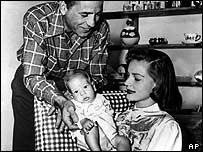 Lauren Bacall with Humphrey Bogart
