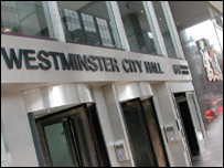 Photo of the exterior of Westminster City Council