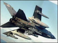 Tornado in flight