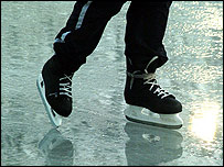 Ice skates, picture courtesy of freefoto.com