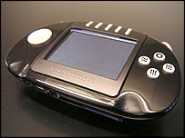 Gizmondo handheld gaming console