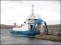 Ferry on Shetland - Undiscovered Scotland