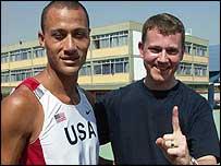 Marlon Shirley and Stuart Hughes
