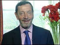 The Home Secretary, David Blunkett, MP