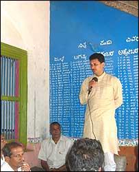 BJP candidate  Anant Kumar Hegde