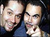 Joe Ferrero and Enrique Santos