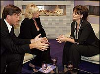 Cherie Blair on Richard and Judy