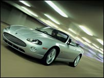 Jaguar XK sports car