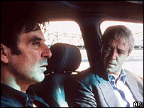 Al Pacino [left] with Russell Crowe in The Insider