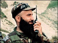 Chechen Rebel Commander Shamil Basayev