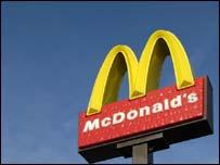 McDonald's sign, BBC