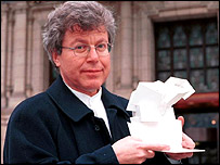 Daniel Libeskind with Spiral model