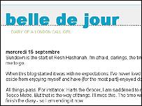 Веблог Белль де Жур