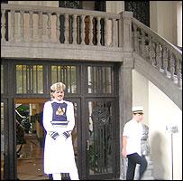 Jinjiang Hotel doorman