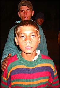 Romanian street children