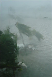 Hurricane Ivan as captured by News Online user Andy Murrant