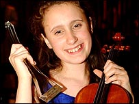 Jennifer Pike who won the last Young Musician contest in 2002