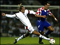 England beat Croatia 3-1 in 2003