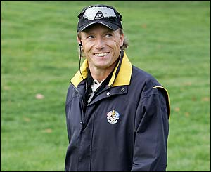 European captain Bernhard Langer