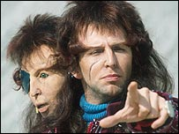 Mark Wing-Davey as Zaphod Beeblebrox