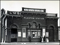 Plaistow Station,  picture courtesy of London Underground